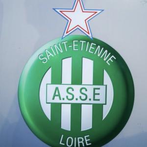 Lot 36 - AS Saint Etienne, football